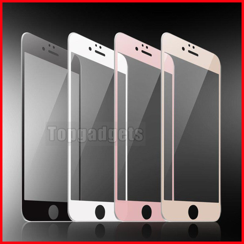3D Full Curve Soft Edge Tempered Glass Apple iPhone 6 6S 7 8 PLUS