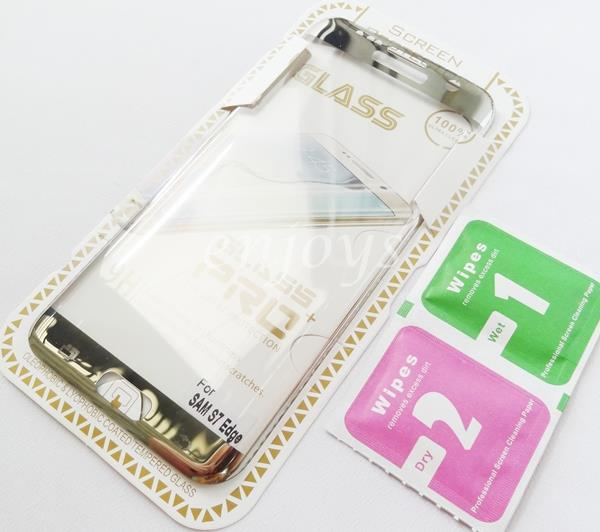 3D FULL Tempered Glass Screen Protector Samsung Galaxy S7 Edge G935FD