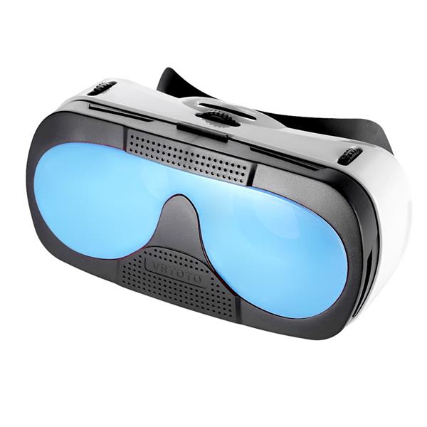 3D Glasses Headset Virtual Reality Function 3D Movies Blue-glass