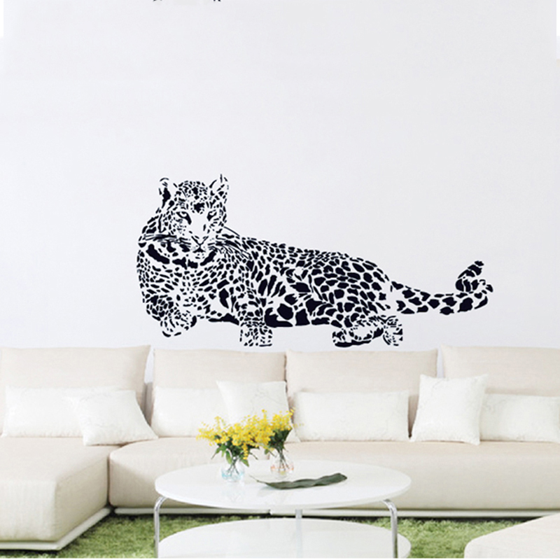 3d leopard wall stickers home decor (end 3/18/2019 6:19 am)
