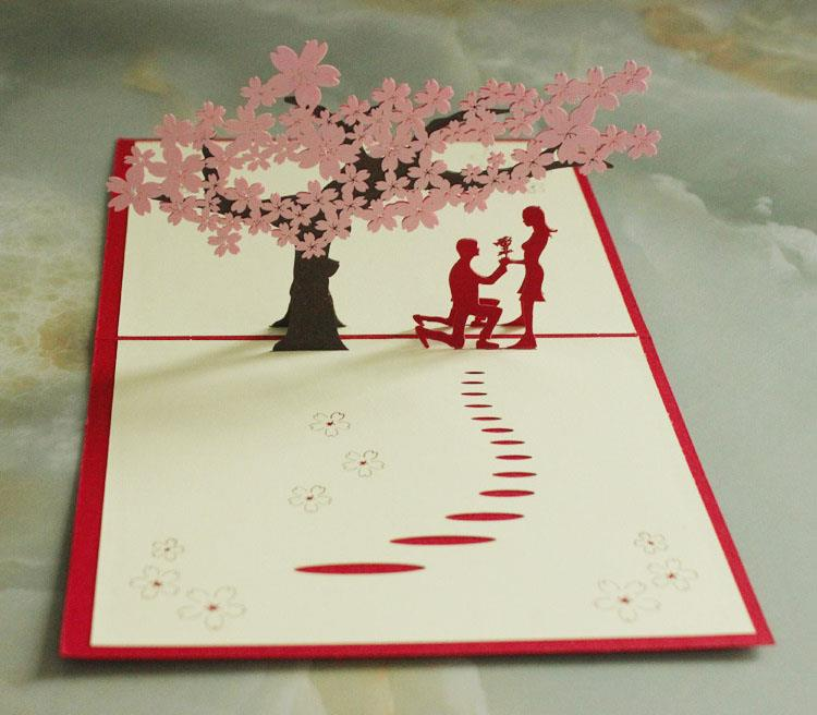 3d love under sakura tree card end 9 4 2018 8 22 pm