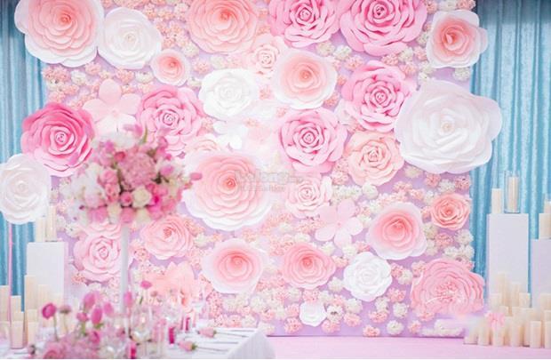 Paper flower decoration image collections flower decoration ideas paper flower wedding decorations roho4senses paper flower wedding decorations mightylinksfo mightylinksfo