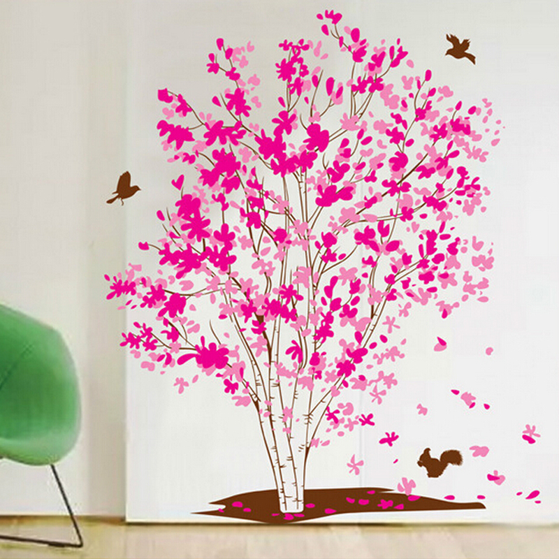 3d pink family wall sticker tree rem (end 3/28/2019 6:39 am)