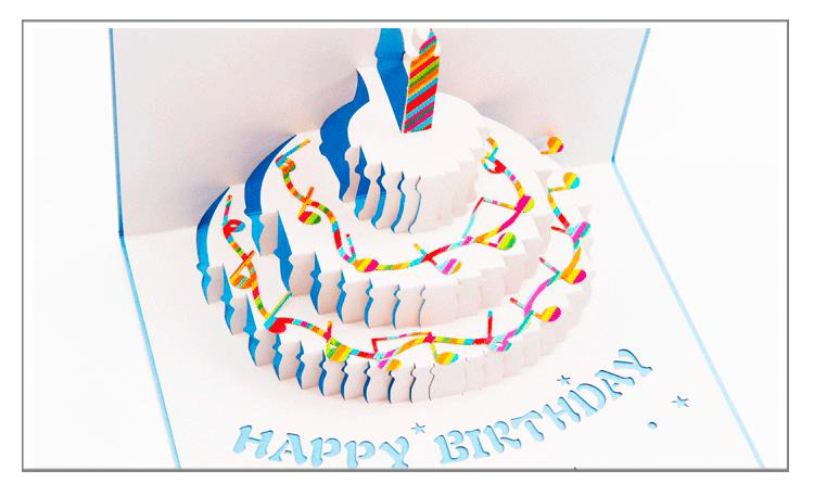 3D Pop Up Piano Birthday Cake Greati end 8272018 337 PM – Pop Up Birthday Cake Card