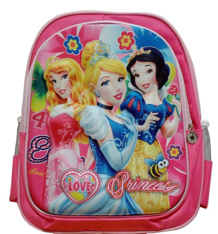 3D Princess School Bag Backpack for Kids