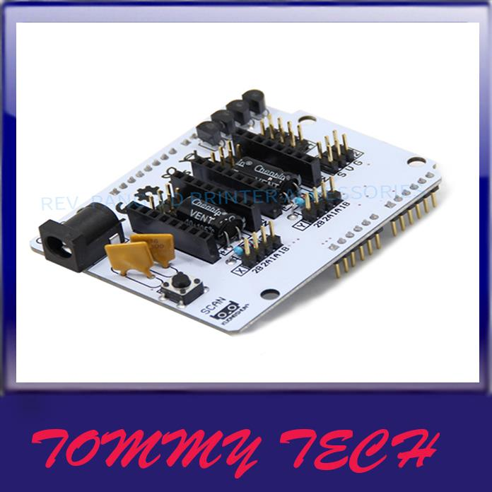3D Printer Scanner Motherboard Ciclop Expansion Board BQ ZUM Driver