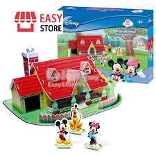 3D Puzzle Mickey House