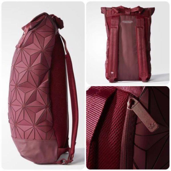 3D Roll Top Backpack The Best backpack Inspired SPORT [RED]
