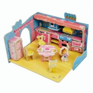 3D Super Puzzle - Kitchen
