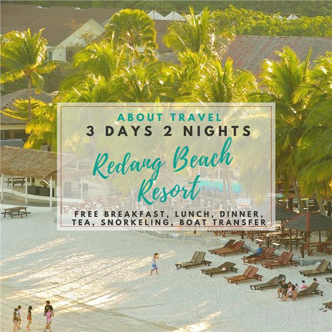 2n Redang Beach Resort Snorkeling Package With Complimentary