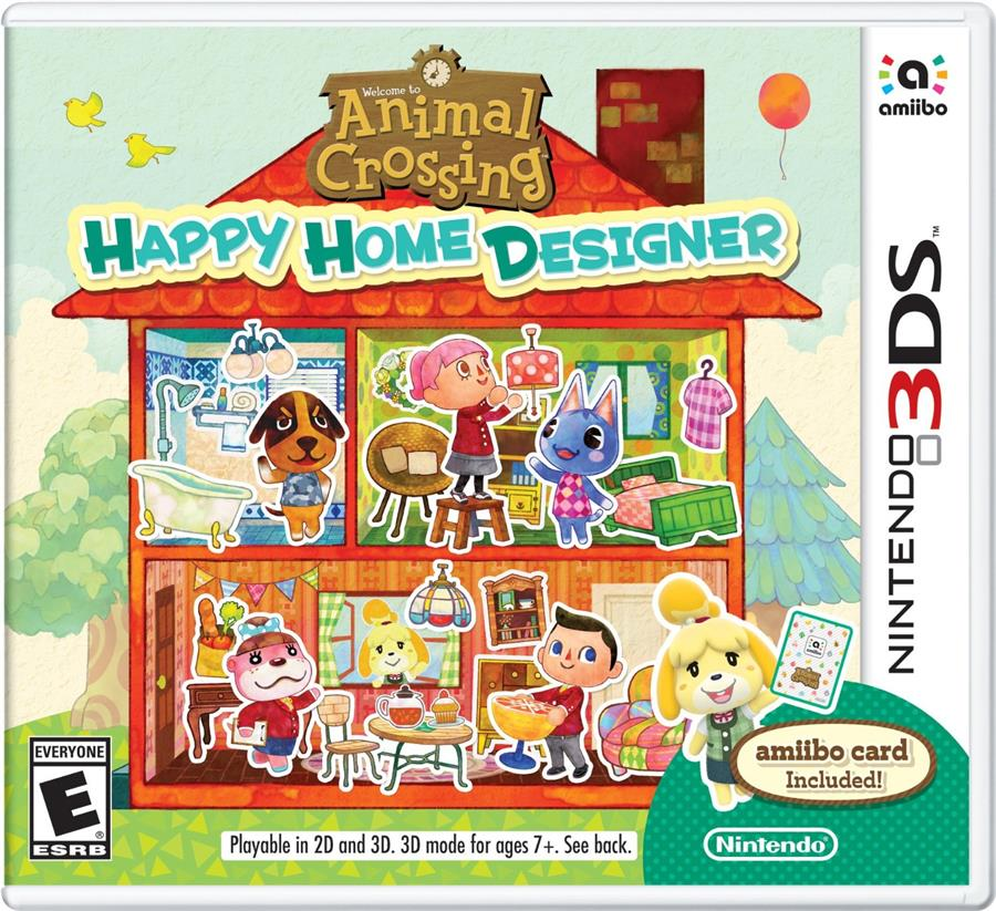 3DS ANIMAL CROSSING HAPPY HOME DESIGNER (US)