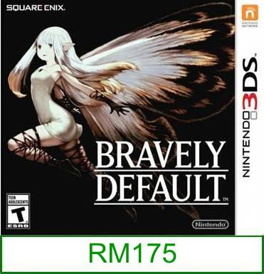 3Ds Bravely Default [US/Asia] ★Brand New & Sealed★