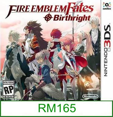 3Ds Fire Emblem Fate Birthright [US/Asia] ★Brand New & Sealed&#9..