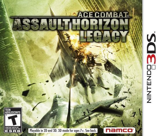 3DS GAME :: ACE COMBAT ASSAULT HORIZON LEGACY 3D :: NEW AND SEALED