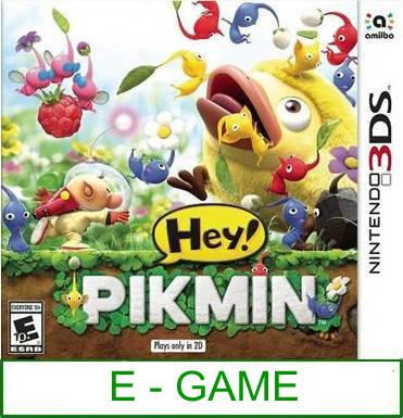 3Ds Hey! Pikmin [US/Asia] ★Brand New & Sealed★