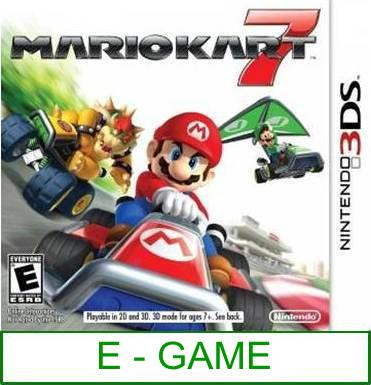 3Ds Mario Kart 7 [US/Asia] ★Brand New & Sealed★