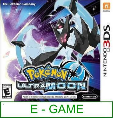 3Ds Pokemon Ultra Moon [US/Asia] ★Brand New & Sealed★