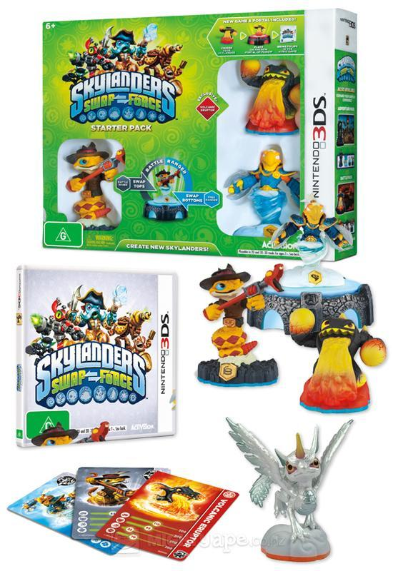 3DS Skylander Swap Force Starter Pack