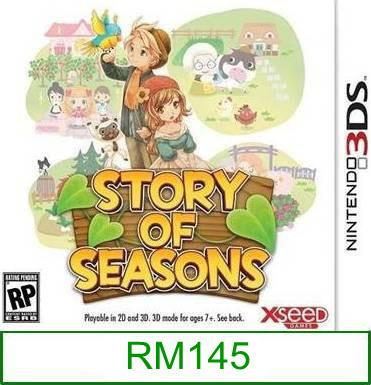 3Ds Story Of Seasons [US/Asia] ★Brand New & Sealed★