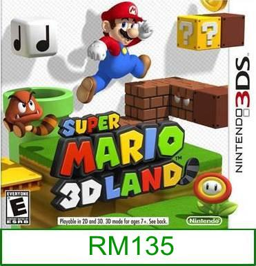 3Ds Super Mario 3D Land [US/Asia] ★Brand New & Sealed★