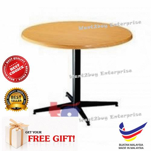 3ft 4ft Isotop Round Hardboard Table Kopitiam Made In Malaysia