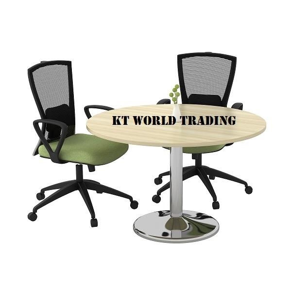 Ft Round Conference Table Round M End PM - 7 ft conference table