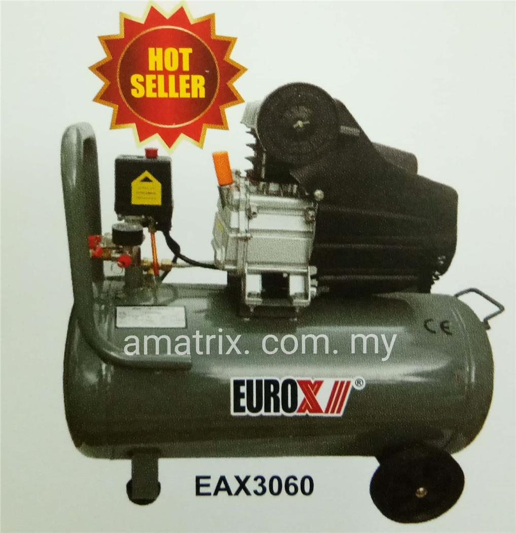 3HP 60L AIR COMPRESSOR EUROX EAX-3060