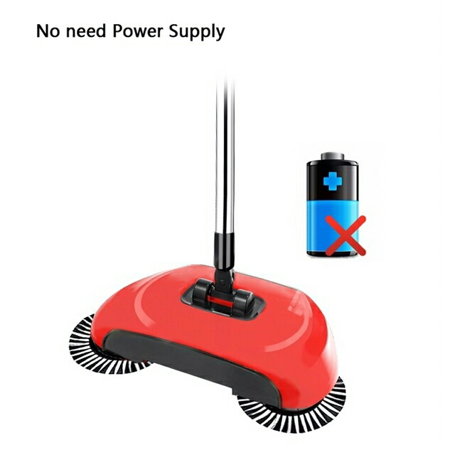 3in1 Automatic Smart Hand Push Magic Broom Sweeper Mop