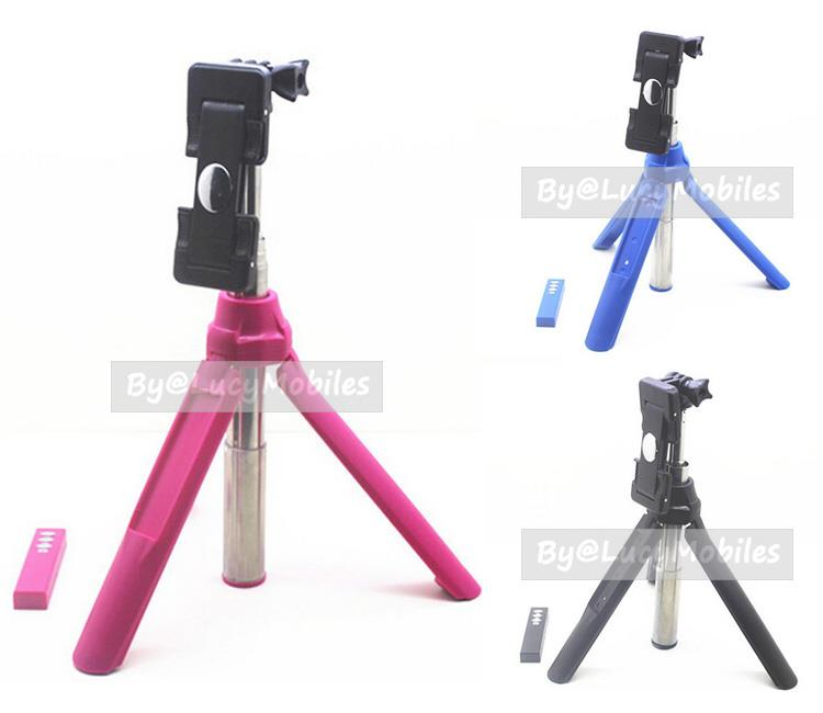 online retailer 401b8 18c34 3in1 BuiltIn Bluetooth Selfie Stick Monopod Tripod for Iphone 6s Note5