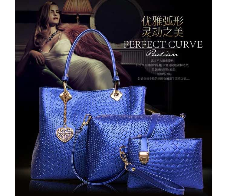 3in1 Shoulder Bag -BBFX3635BLUE