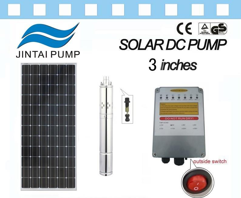 3inches Screw Solar Water Pump System