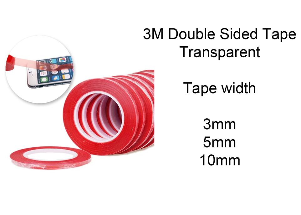 3M Adhesive Sticker Double Sided Tape 2-5mm Phone LCD Digitizer Repair