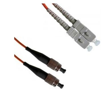3m MM 50/125 DX Optical Fiber Patch Cord SC-FC