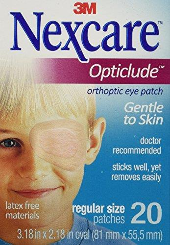 3M Nexcare Opticlude Eye Pactes 20pcs