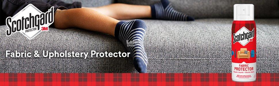3M Scotchgard™ Fabric & Upholstery Protector Repels Liquids Blocks