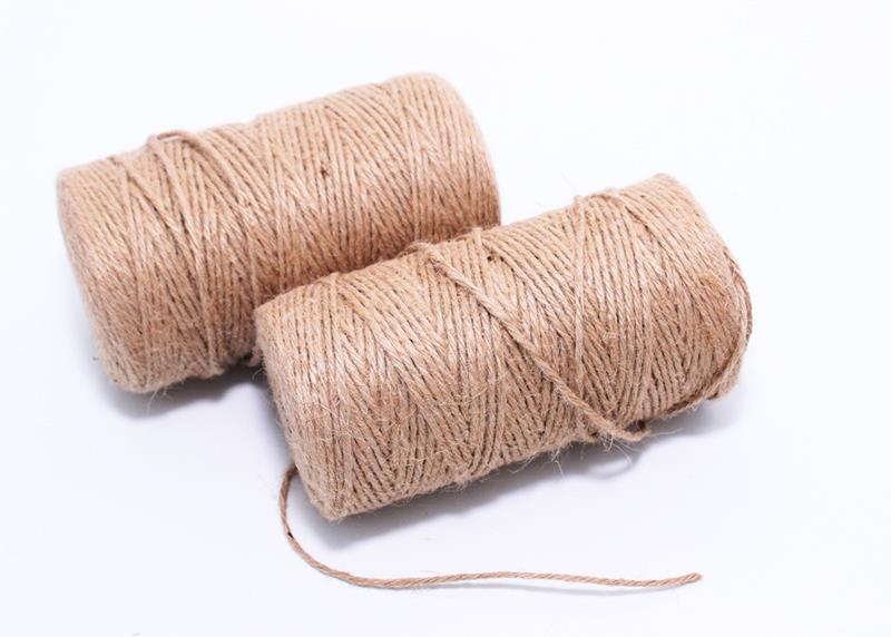 3MM Natural Fiber Jute String Rope ( (end 9 22 2017 4 15 PM) 4f887bc3368f8