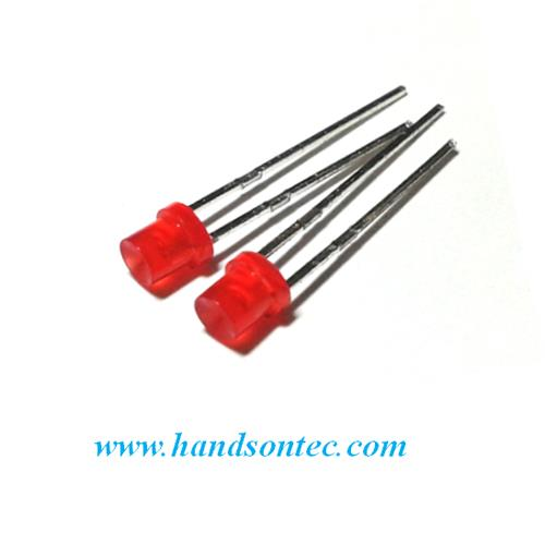 3mm Round Wide Angle LED Lamp/5-pcs