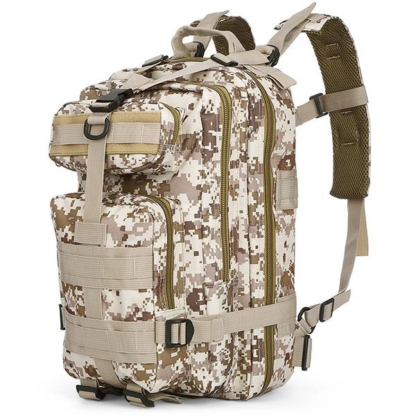 3P Military 30L Backpack Sports Bag for Camping Traveling Hiking Trekk..