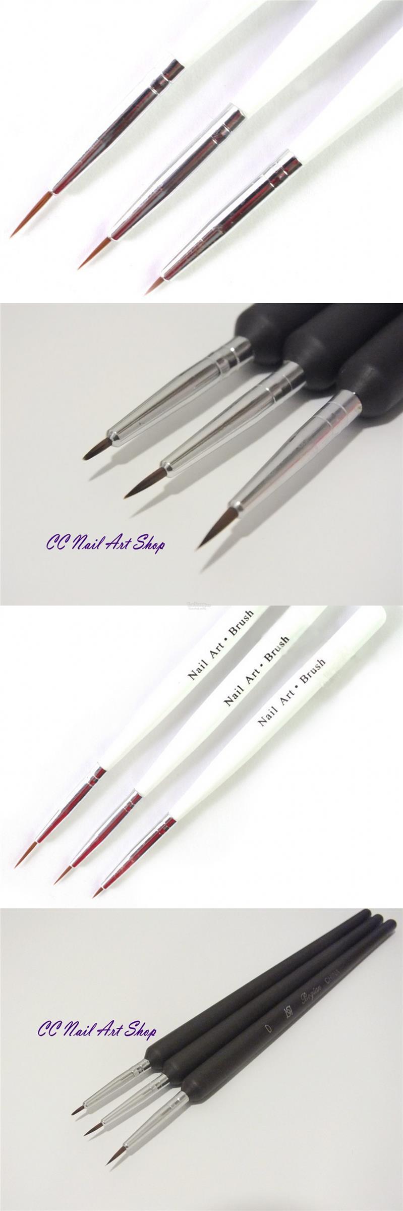 Nail Art Ideas Fine Detail Nail Art Brush Pictures Of Nail Art
