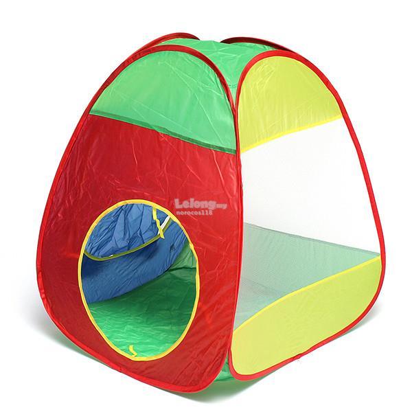 3pcs Kids Folding Toy Tent Children Play Hut Ocean Ball Pool  sc 1 st  Lelong.my & 3pcs Kids Folding Toy Tent Children (end 12/22/2018 8:15 AM)