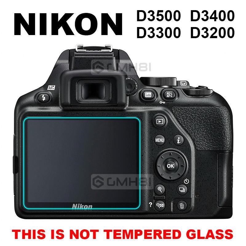 3pcs Nikon D3500 D3400 D3300 D3200 D3100 Fiber Glass Screen Protector