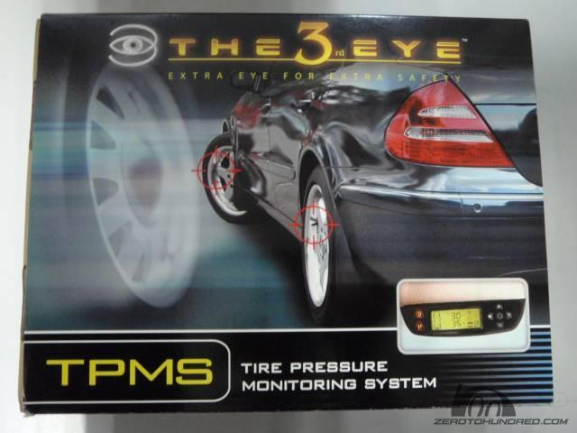 The 3rd Eye Tyre Pressure Monitoring System (TPMS) 4 Sensors