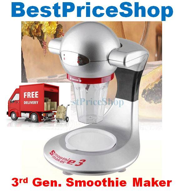3rd Generation As Seen on TV Smoothie Maker 3 juicer & Blender