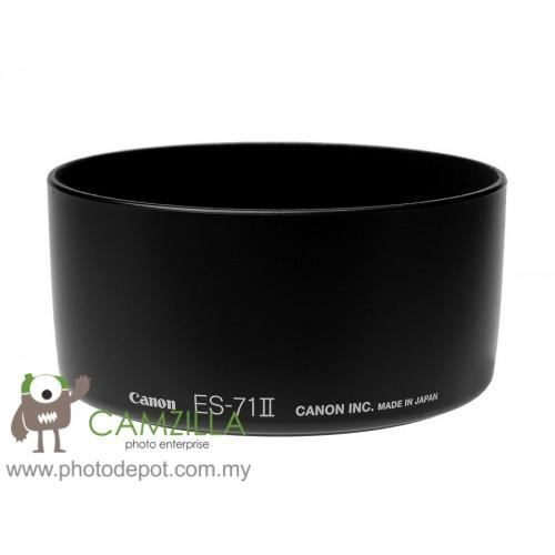 3rd Party Canon ES-71 II Lens Hood for EF 50mm f/1.4 Lens ES71 II