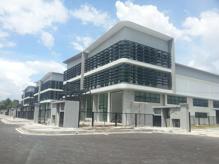 3sty Corner Semi-d Factory, Nouvelle Industrial Park, Balakong