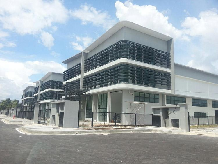 3sty Corner Semi-D Factory for rent,Nouvelle Industrial Park, Balakong