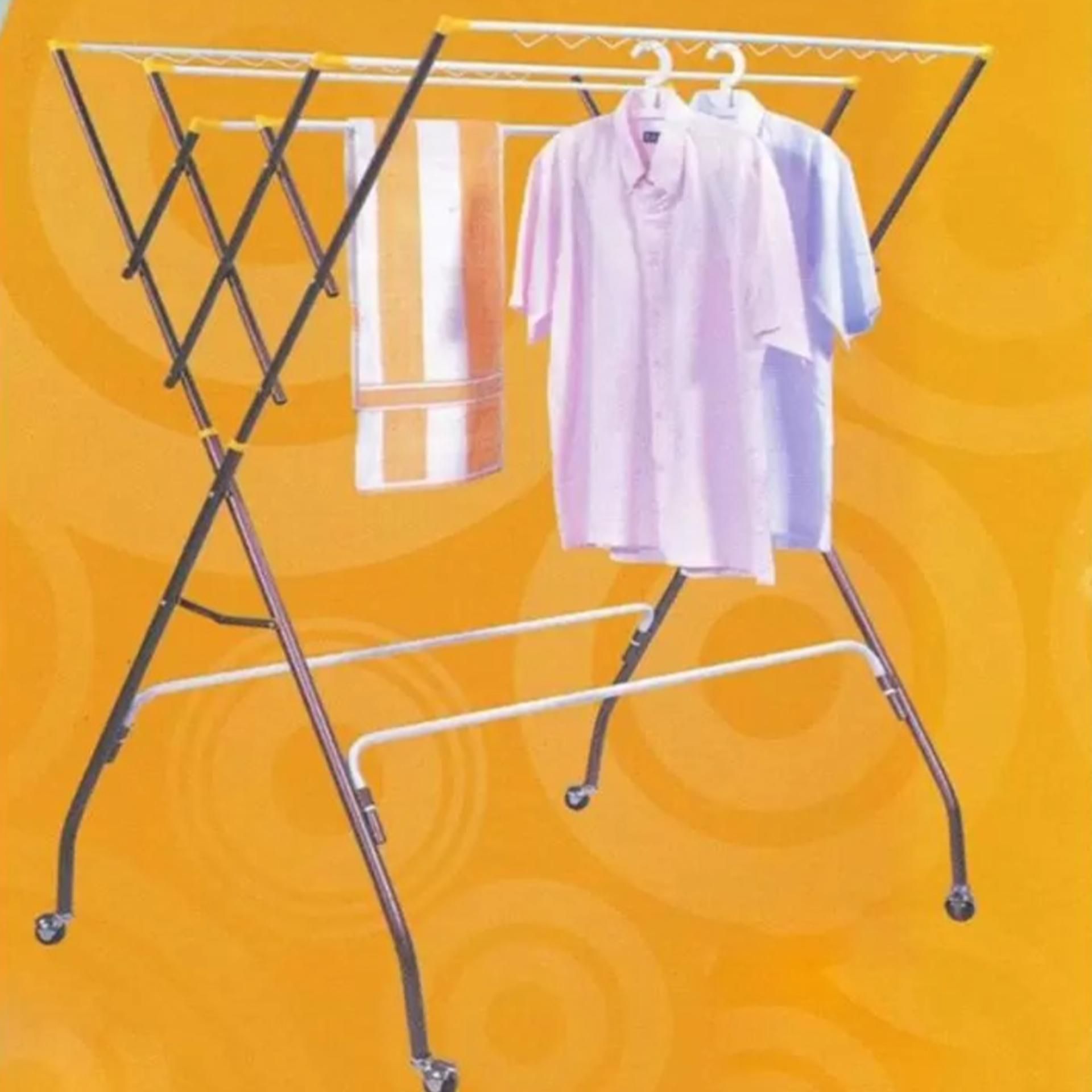 3V Anti-Rust Cloth Hanger Drying Rack Outdoor Clothes Hanger Copper Co