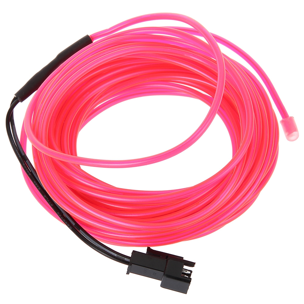 3v Flexible Led Neon Light Glow El End 10 17 2019 1040 Am Wiring A Wire Strip Pink 1m 3m