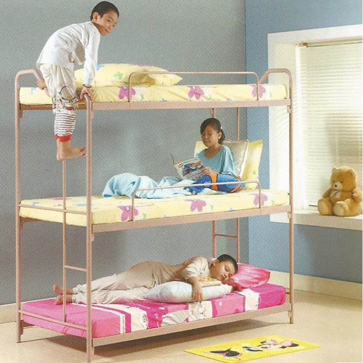 3v Triple Bunk Metal Bed Frame Tr9 End 3 22 2021 12 00 Am