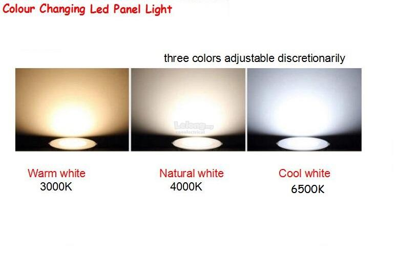 info for 3064c bbae9 New 3W Led Recessed Eyeball Downlight 3 Color Change Lighting